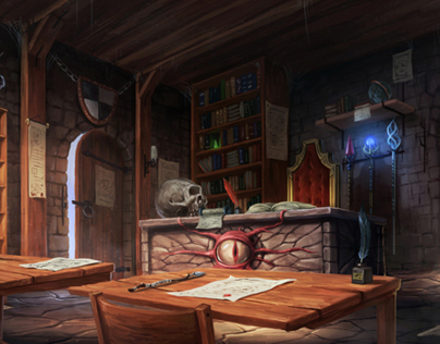 The Mage's Classroom