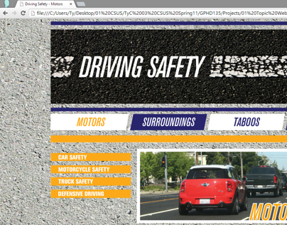 """Driving Safety"" Website"