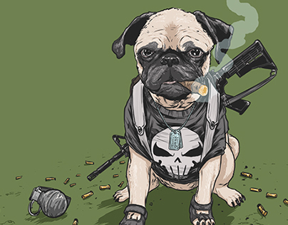 DOTMU: Dogs of the Marvel Universe