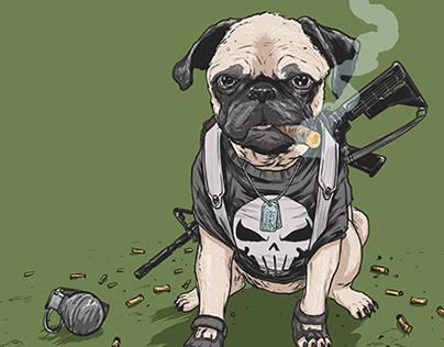 DOTMU: Dogs of the Marvel Universe