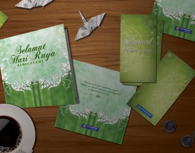 Bank Rakyat - Hari Raya Greeting Card & Green Packet