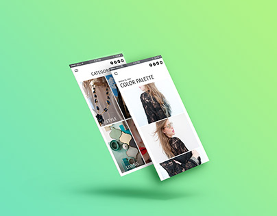 Fashion Responsive UI