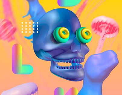 Posters Design - Maya 3D