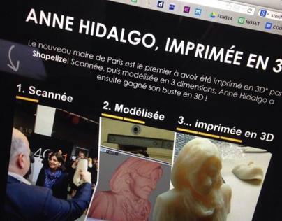 Anne Hidalgo / 3D printing