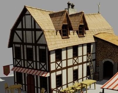 Sawmill (model texturing)