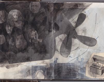 Sketchbook : Collages