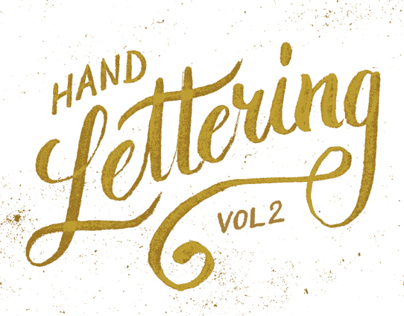 Hand Lettering Vol. 2