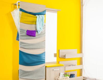 Pok - furniture for small corridors
