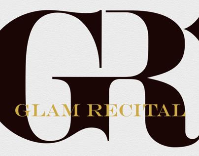 Glam Recital Logo Design