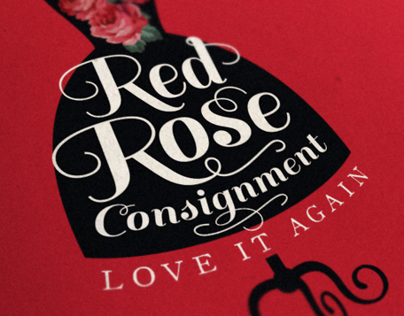 Red Rose Consignment Logo