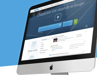 WannaMoveIt Website Design