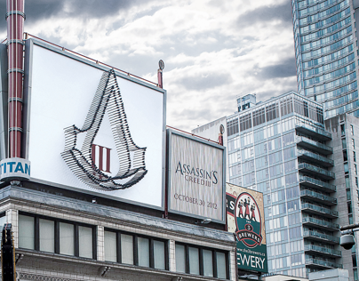 Ubisoft - Assassin's Creed III 3D Billboard