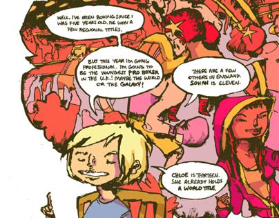 Boxer comic