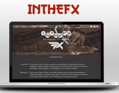 InTheFX web design