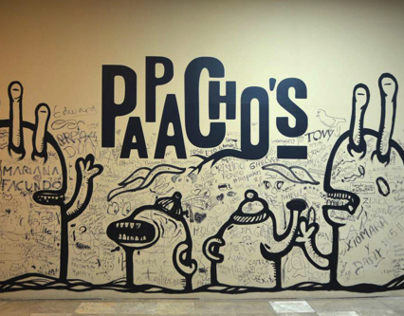 Mural Papacho's Jockey Plaza
