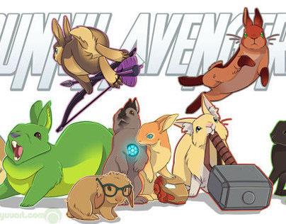 Bunday - Avenger Bunnies