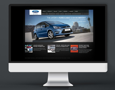 Ford Singapore Website Redesign