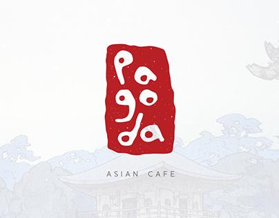 Pagoda Asian Cafe Branding