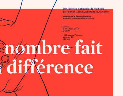 Poster Action Communautaire Autonome