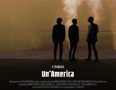 """Il Triangolo """"Un'America"""" - CD package - 2014"""