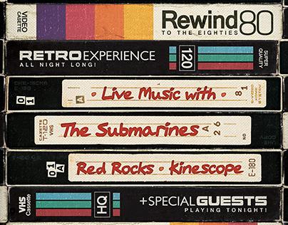 Vintage VHS - Flyer & Poster Template