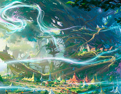 Legend Story Studios- Environment design
