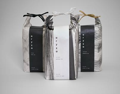 Oryza Rice - Packaging Design