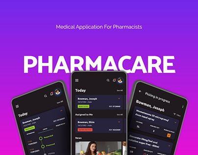 Pharmacare - Medical application