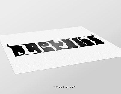 Darkness/Light ambigram