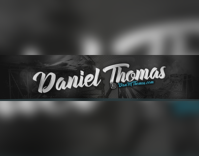 Personal YouTube Channel Banner