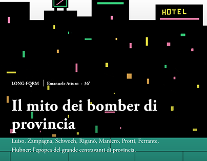 NOW TV. Long-form, editorial project