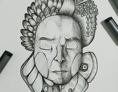 Gift of Death (Original Sketch)