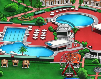 Club Hotel Turan Prince Info Map