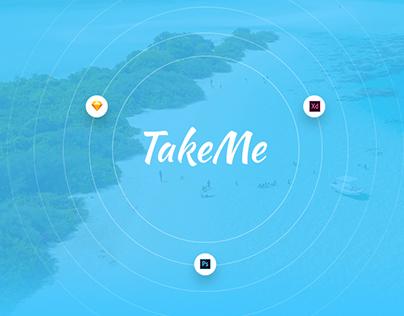 Take Me Free UI Kit