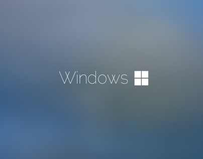 Windows One Concept Redesign