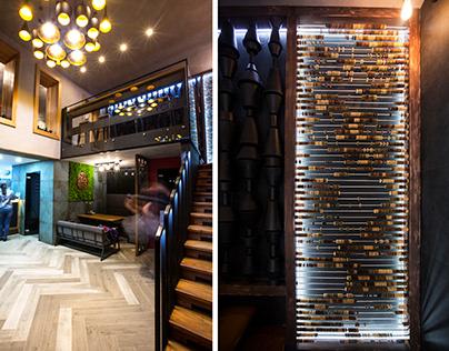 YOKI Restaurant Interior Design