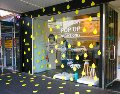 Fashion Collaboration Pop Up Store