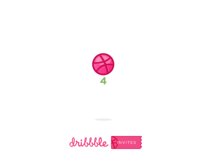 Dribbble Invite 4x Giveaway