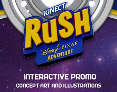 Pixar Rush Experience