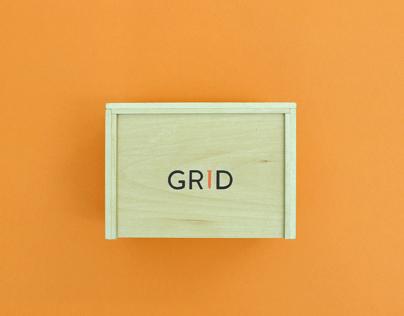 Grid Nail Packaging