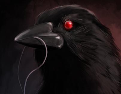 Evil crow - photo#7