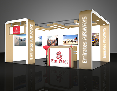 Emirates Airways stand design