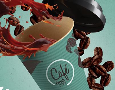 Campaña Café Fresh Market 2016