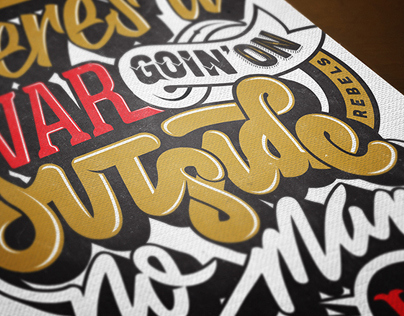 Hand Lettering Projects