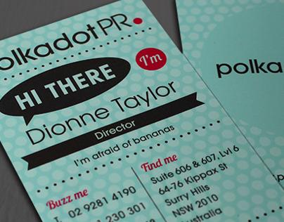 Polkadot PR Business Card
