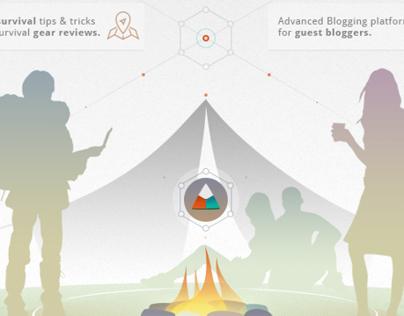 Survival Info Social Network