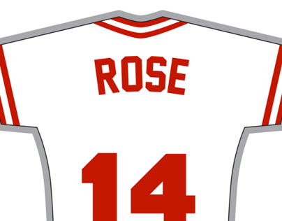 Rose Jersey Decal