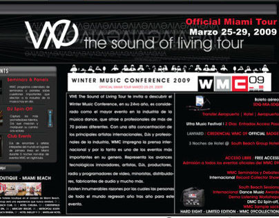 EVENT // THE SOUND OF LIVING - VIVE MIAMI