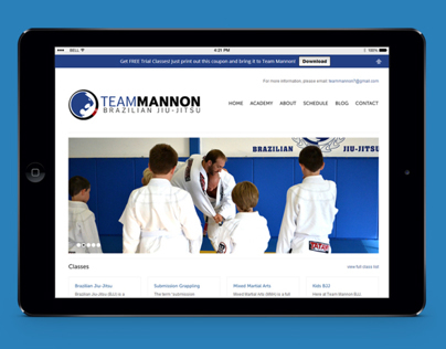 Team Mannon Brazilian Jiu-Jitsu