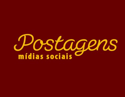 Postagens para Mídias Sociais - (Governo SE)